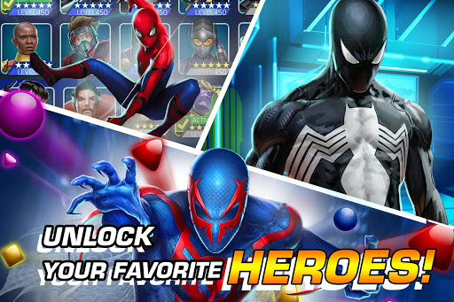 MARVEL Puzzle Quest: Join the Super Hero Battle! screenshot 2