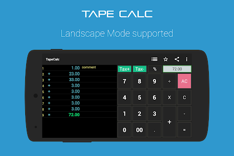 TapeCalc- screenshot thumbnail