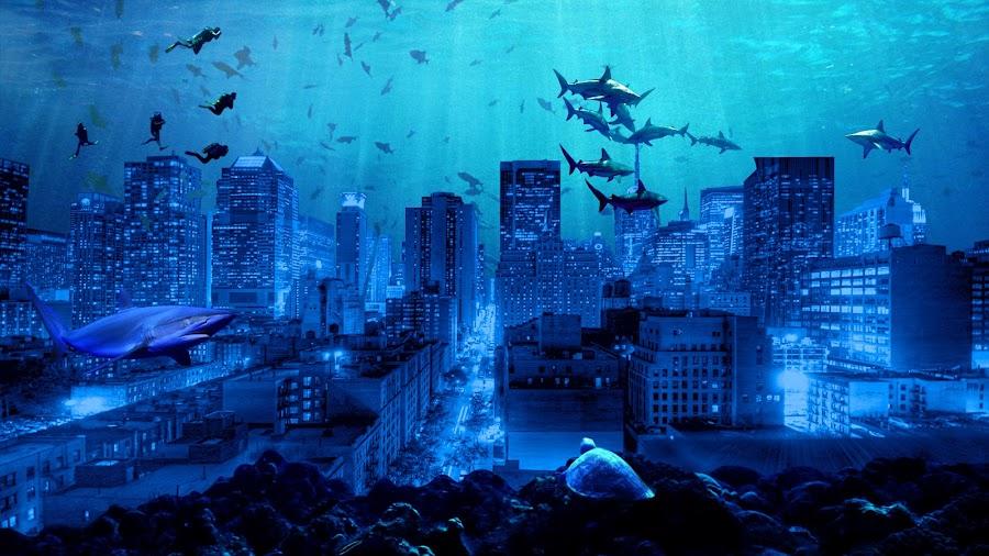 Under Sea City by Tanbir Hasan - Print & Graphics All Print & Graphics (  )