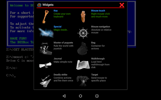 Magic Dosbox Free for Android - Download