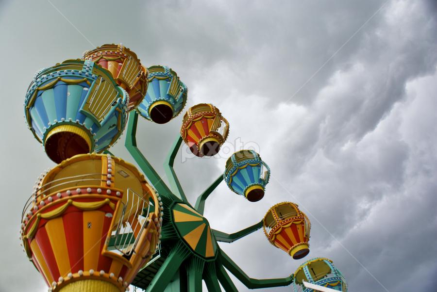 by Carolyn Averso - City,  Street & Park  Amusement Parks
