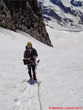 Photo: Lor_DSC00135 Riccardo in tenuta da ghiacciaio