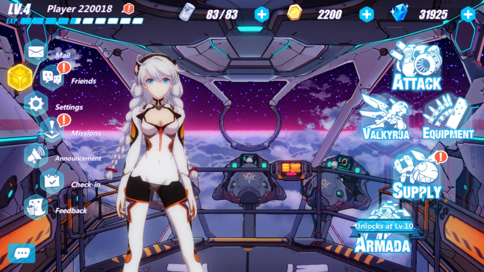 Honkai Impact 3 – zrzut ekranu