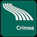 Carte de Crimée off-line icon