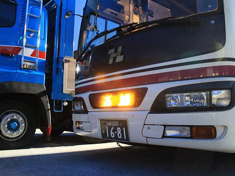 阪急バス「よさこい号」 2891 南国SAにて その3