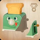 Puzzle per i bambini - Cucina icon