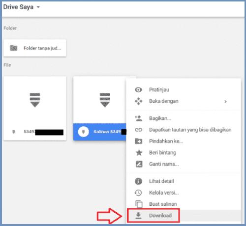 tải xuống Google Drive khi bị giới hạn lượt download 5