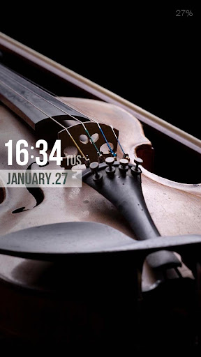ZUI Locker Theme - Violin