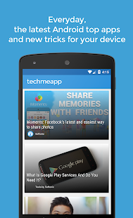TechMeApp- screenshot thumbnail