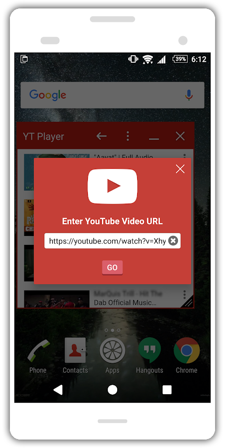 YT Player - Small App- screenshot