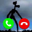 Fake Call Siren Head Joke icon