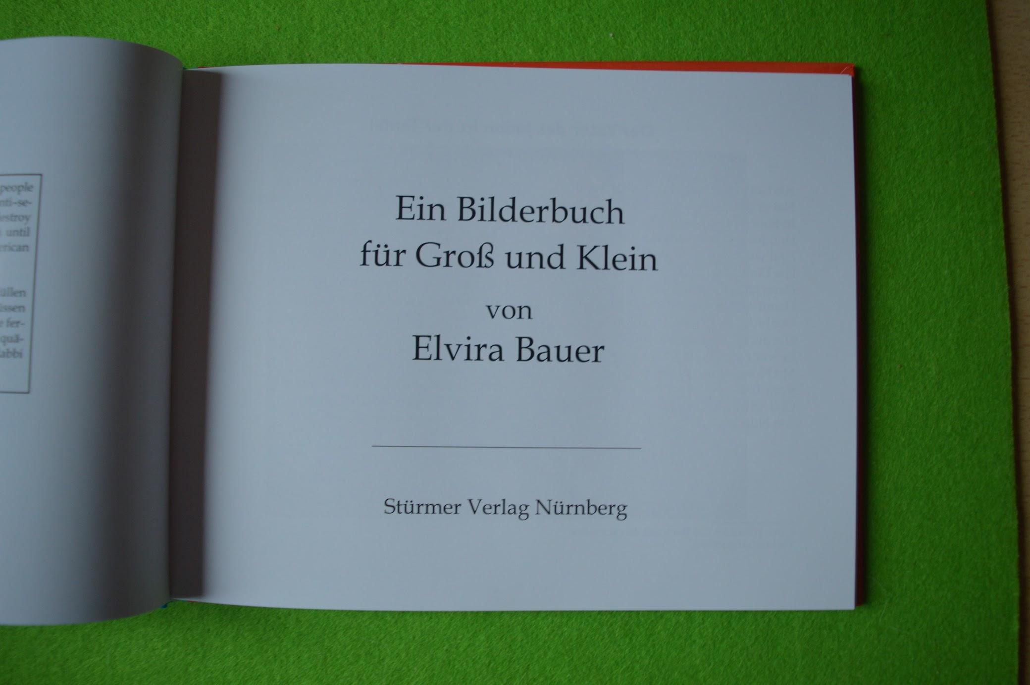 Trau keinem Fuchs auf grüner Heid und keinem Jud bei seinem Eid, Kinderbuch, 1936, Elvira Bauer, Wissenschaftlicher Quelltext