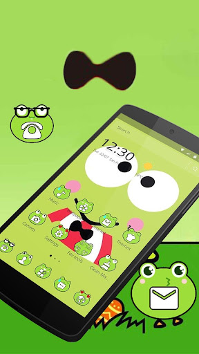 Cute Frog Big Eyes Anime Theme for PC