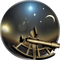 Celestial equator: planetarium icon