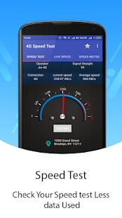 4G Speed Test & Meter - náhled