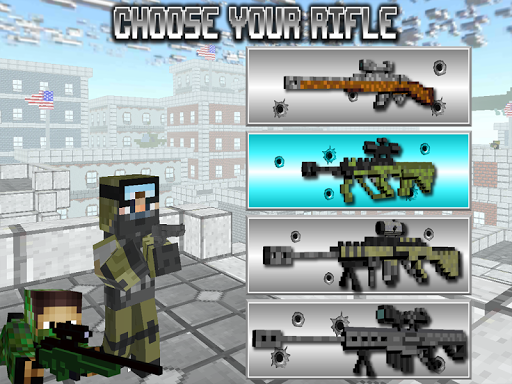 American Block Sniper Survival  screenshots 6