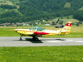 "Photo: FFA Altenrhein Bravo AS 202/32TP (""Turbine Bravo"", HB-HFJ, 1992)"