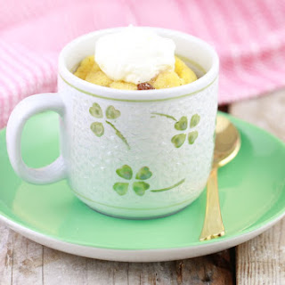 Microwave Bread & Butter Pudding in a Mug Recipe