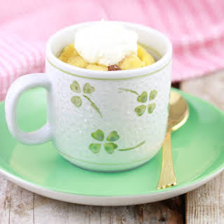 Microwave Bread & Butter Pudding in a Mug.