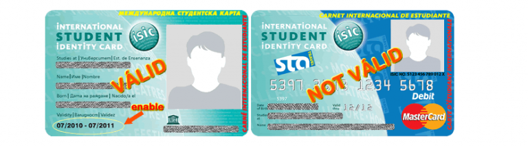 Isic Card