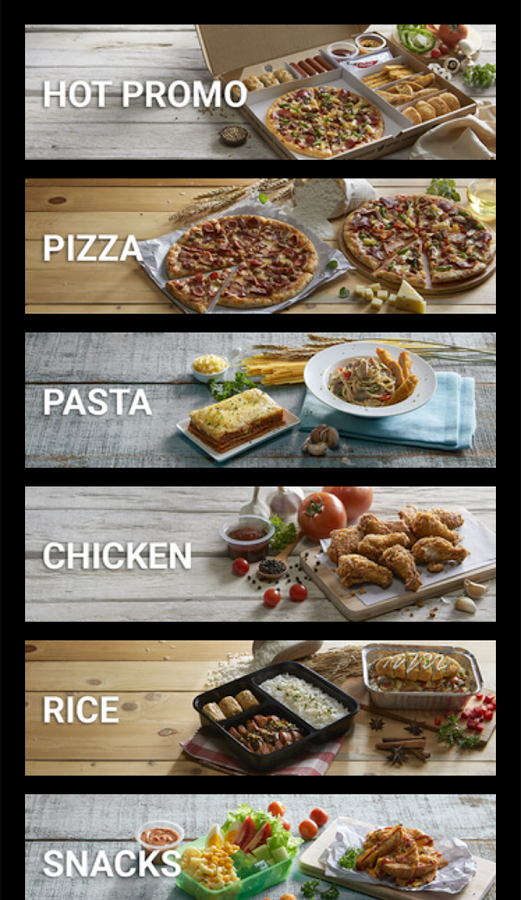 Pizza Hut Delivery Indonesia- screenshot