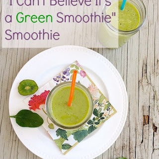 """I Can't Believe It's a Green Smoothie"" Smoothie"