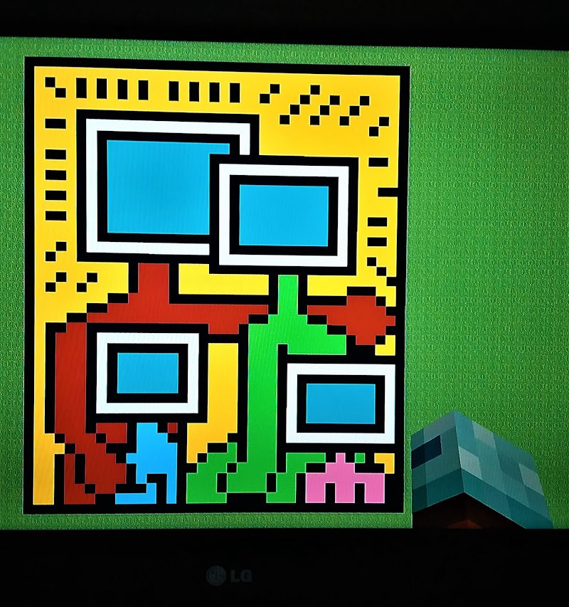 Famiglia, Keith Haring...su minecraft di 1marti2