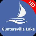 Guntersville Lake Offline GPS Nautical charts icon