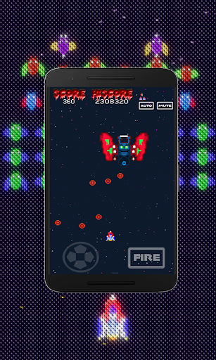 Galaxiga Retro:  Space Shooter screenshots 16