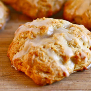 Fluffy Butterscotch Cookies with Brown Butter Icing