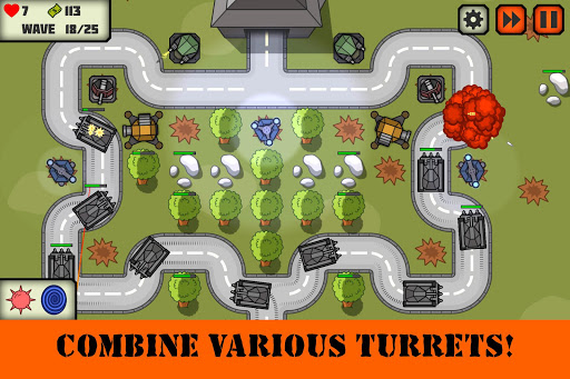 Tactical V: Tower Defense Game 1.3 screenshots 1