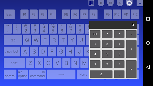 Wifi mouse(keyboard trackpad) on the app store.