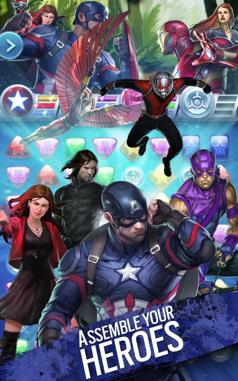 Marvel Puzzle Quest screenshot #16
