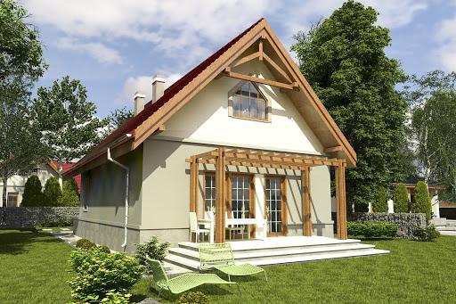 projekt Lolek II bez garażu B