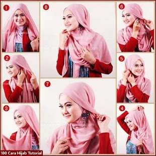 500+ Hijab Fashion Tutorial - náhled