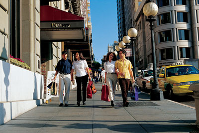 Photo: Just a short drive away in San Francisco, guests will discover a variety of shopping, dining, and other big city attractions.