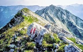 Achensee Wandern Seebergspitze Seekarspitze. Karwendel Tirol