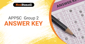 APPSC Group 2 Answer key 2020