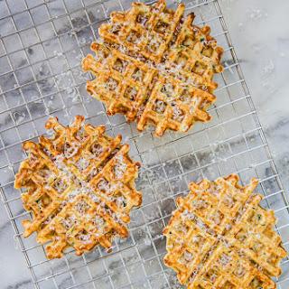Savory Zucchini-Parmesan Waffles