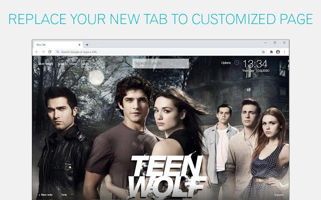 Teen Wolf Backgrounds New Tab - freeaddon.com