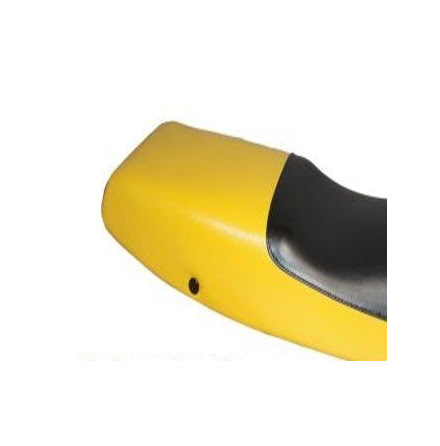 Seat cover black and yellow for BMW K1 models