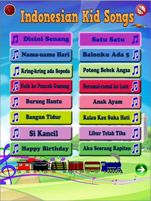 Indonesian Kid Songs Android Apps Appagg