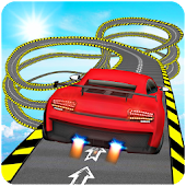 Impossible Stunts Car Racer Games