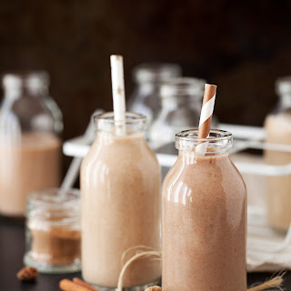 Spiced & Malted Date Shakes