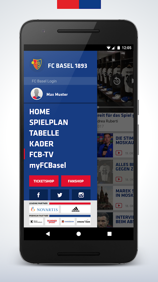 FC Basel 1893- screenshot