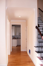 Photo: Hall from entry to kitchen