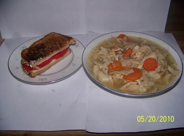 Chunky Chicken Noodle Soup Recipe