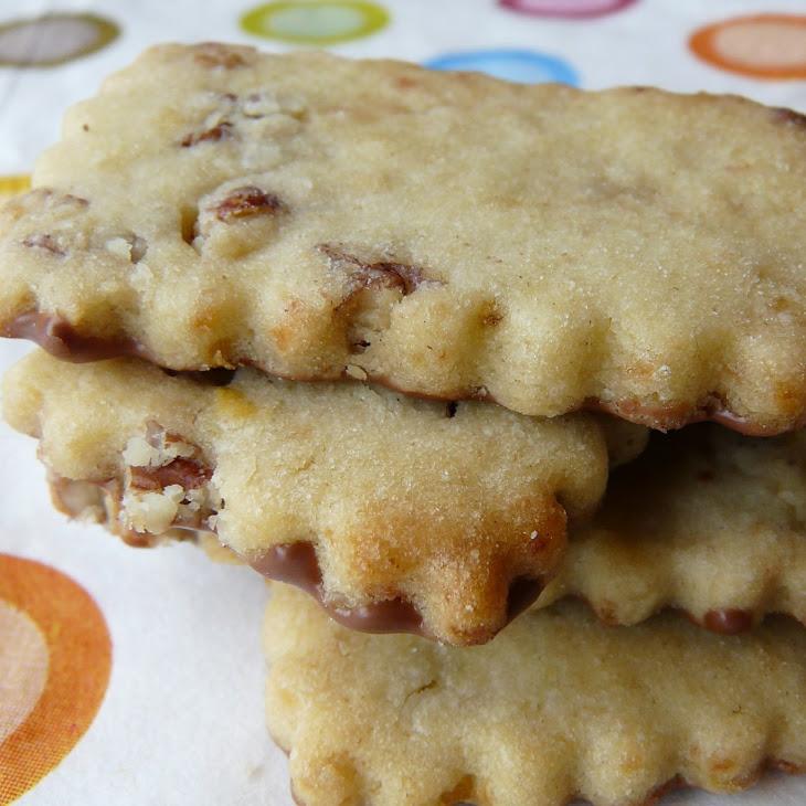 Chocolate and Banana Shortbread Recipe