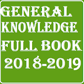 General Knowledge Book:2018-2019