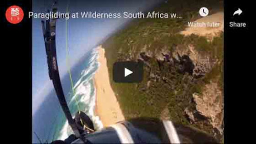 Paragliding at Wilderness, South Africa
